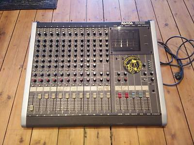 Ramsa WR-S212 Vintage Analog Mixer, 12 channel