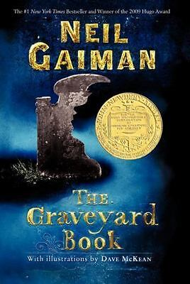 The Graveyard Book by Neil Gaiman (2010, Paperback)