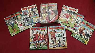 34 Roy Of The Rovers Comics Jan- Sep 1989 Football