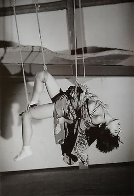 Nobuyoshi Araki Limited Edition Photo 34x50 Nude Woman Girl Shibari Bondage Art
