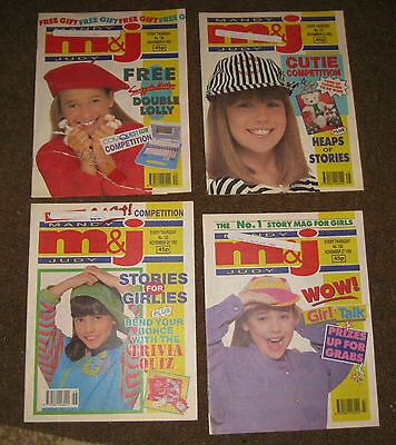 Mandy & Judy (M&J) Comics – November 1993 x 4 (Nos 130-133) Like Bunty