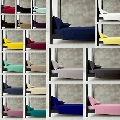 Cotton Rich Super Soft New Diamond Range Fitted Sheets / Bunk Bed / Pillowcases