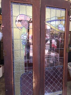 Stain Glass French Doors