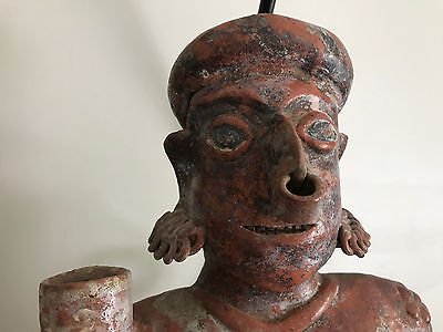 WOW! *Magnificent* Nayarit Precolumbian Female Pottery Figure Ancient Artifacts