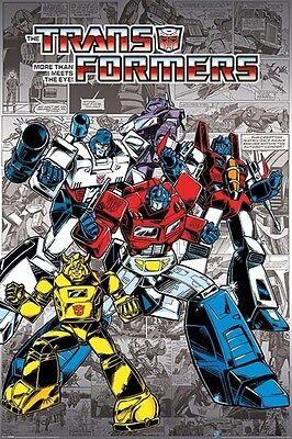 TRANSFORMERS RETRO POSTER (61x91cm) ROBOTS IN DISGUISE PICTURE PRINT