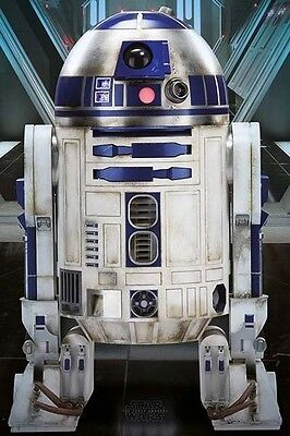 (LAMINATED) STAR WARS 7 POSTER (61x91cm) R2D2 PICTURE PRINT NEW ART