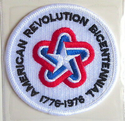 BICENTENNIAL AMERICAN REVOLUTION NFL ANNIVERSARY PATCH ONLY Willabee & Ward 1976