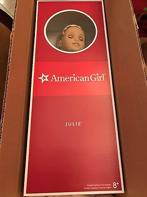 American Girl Doll Julie New In Box With Accessories