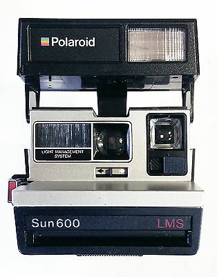 Polaroid Sun 600 LMS Instant Film Land Camera Fully Working Excellent Condition