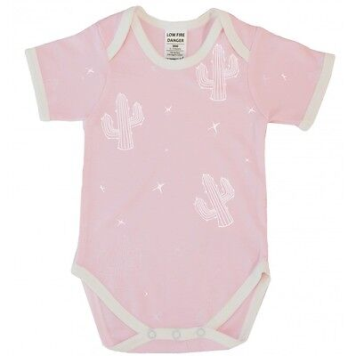 BNWT Cactus Short Sleeve Bodysuit Pink Size 000 (baby newborn clothes boy girl)
