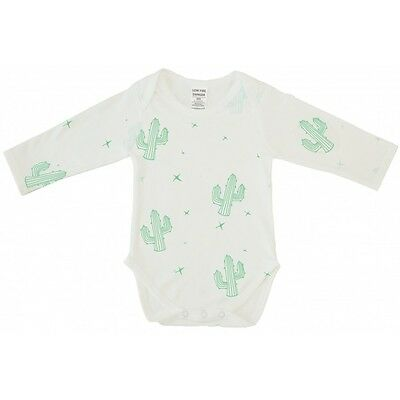 BNWT Cactus Long Sleeve Bodysuit White Size 000 (baby newborn clothes boy girl)