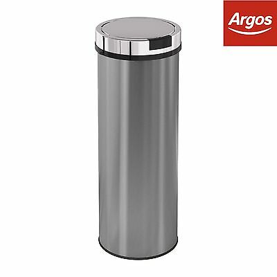 Morphy Richards Accents 50L Round Sensor Bin - S.Steel :The Official Argos Store