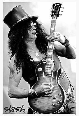 "O-7365 SLASH GUNS N ROSE THE POSTER 24""x36"" MUSIC ROCKPOP CONCERT NEW SIDE SHEET"