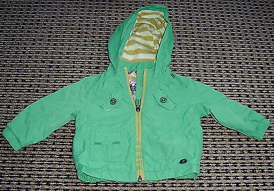 Ted Baker Baby Boys Hooded Rain Jacket Sz  3 - 6 Months