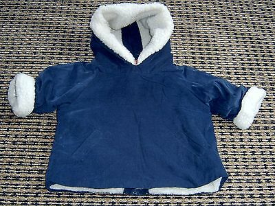Seed Baby  Boys Cord Hooded Top / Jacket Sz 3 - 6 Months
