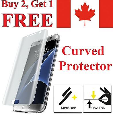Premium Curved Clear TPU Screen Protector for Samsung Galaxy S7 & S6 / S7 Edge