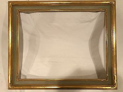 Antique 28x22 Newcomb Macklin Style Husar Arts & Crafts Carved Picture Frame