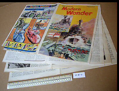 1930s Modern Wonder Pulp Magazine V1 #4 Superb Artwork Outstanding condition