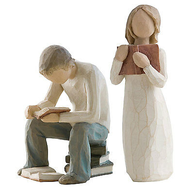 Willow Tree Siblings - Older Brother & Sister Figurine Gift Set Family Group