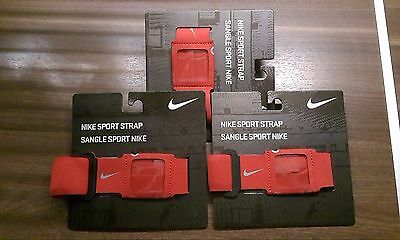 Nike running sport strap iPod Nano player armband new red unisex
