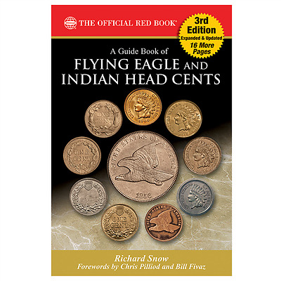 Newest Red Book A Guide Book of Flying Eagle And Indian Head Cents 3rd Edition