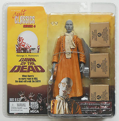 Dawn Of The Dead - KRISHNA ZOMBIE ACTION FIGURE 2006 NECA SEALED in Blister Pack