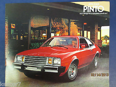 1979 Ford Pinto Sales Brochure D6552