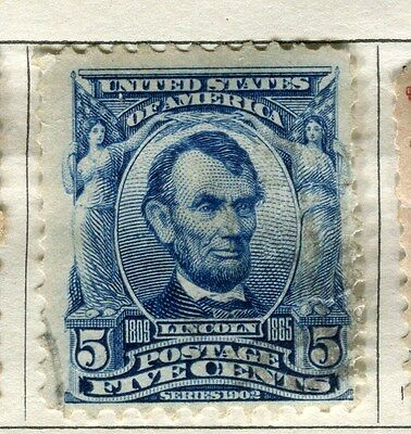 USA;  1902 early President series issue used 5c. value