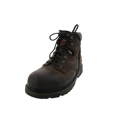 Timberland 2731 Mens Pit Boss 6'' Brown Work Boots Shoes 13 Wide (E) BHFO