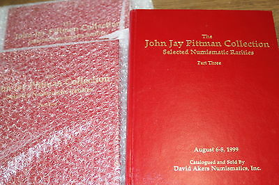 Hardbound John J Pittman Collection Parts 1-3
