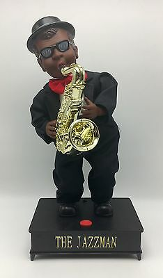 The Jazzman Realistic Synchronized Movement Musical Toy Saxophone
