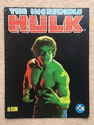The Incredible Hulk Album - Free Gift From Marvel Hulk Comic #1 - 1979