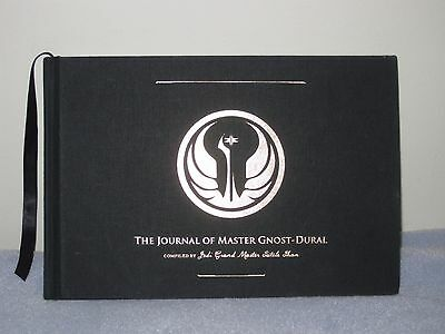 The Journal Of Master Gnost-Dural Star Wars The Old Republic Hardcover Book