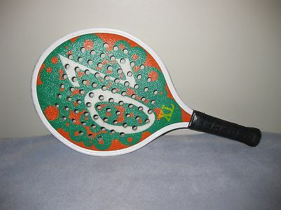 Vintage Viking Athletics OZ XL Titanium Paddle Ball Racket  390g