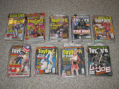 Toyfare Magazine Lot Complete Run Full Set 1-163 All Magazines Issues Issue