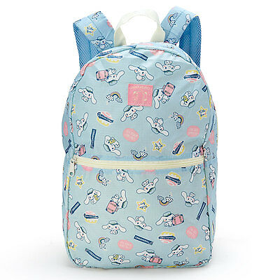 Cinnamoroll folding travel backpack JAPAN Brand-new 2016 Sanrio blue NWT