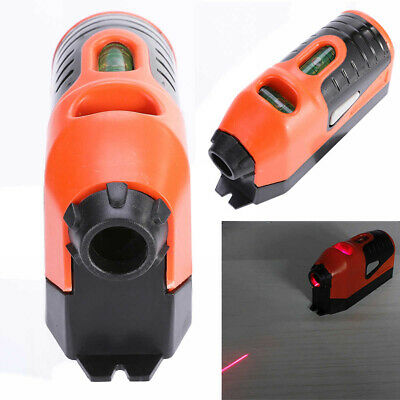 Laser Spirit Level Guide Leveler Straight Project Line Tool Hang Picture Plastic