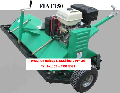 ATV FLAIL MOWER 5 ft 15 HP Electric Start Tow Behind Quad