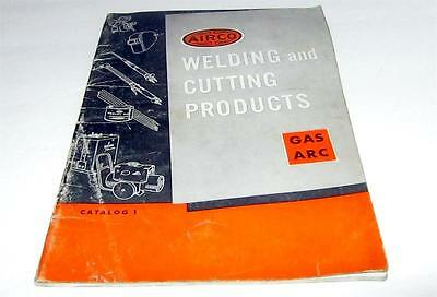 Vintage AIRCO Welding and Cutting Products Catalog                 #25