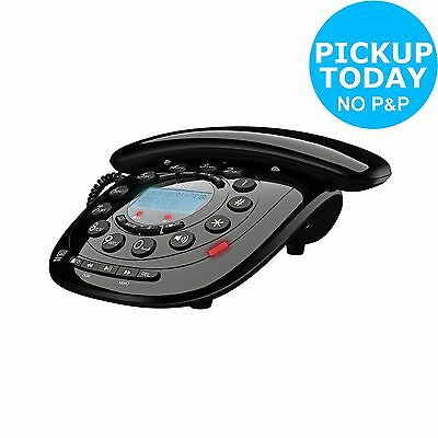 iDECT Carerra Corded Telephone with Answer Machine - Single.