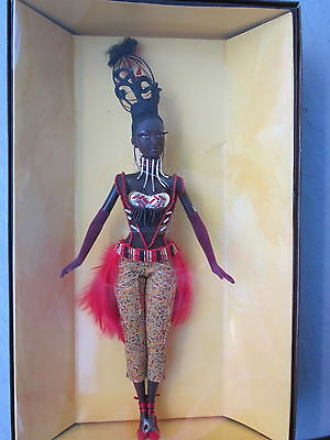 Tano Treasures Of Africa Barbie Doll By Byron Lars Beautiful Fifth In The Series