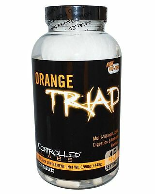 Controlled Labs ORANGE TRIAD Multivitamin Joint Digestion Immune Health 270 caps