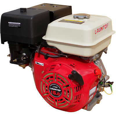 16HP Petrol Engine 4 Stroke OHV Motor with Recoil Start - LAUNTOP