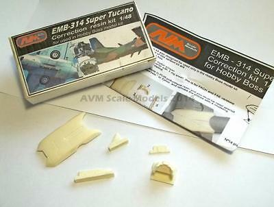 EMB 314 / A-29  Super Tucano correction resin  kit for Hobby Boss 1/48