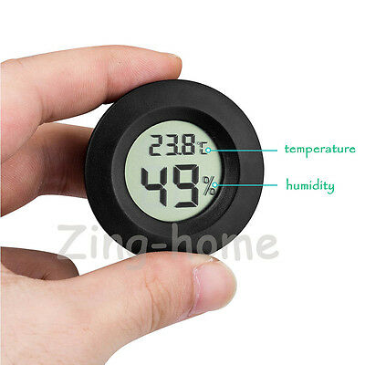 4Pcs LCD Celsius Digital Thermometer Hygrometer Temperature Humidity Meter Gauge