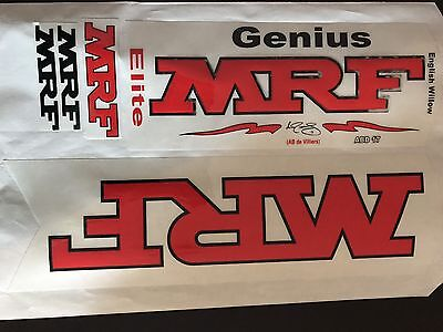Cricket Bat Sticker MRF Elite ABD 17
