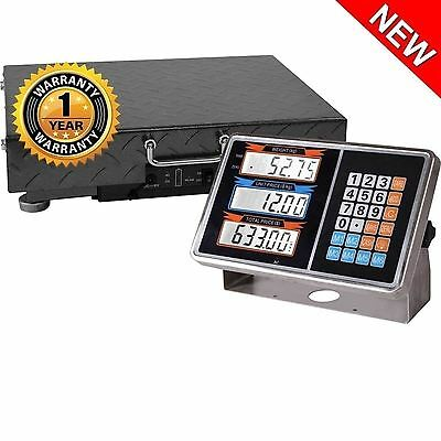 200Kg Digital Scales Wireless Rechargeable Electronic Strong Steel Platform