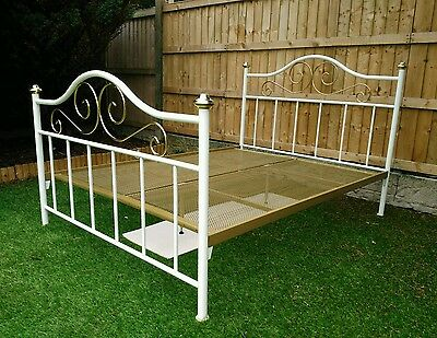 Vintage Victorian Style Double Bed Frame