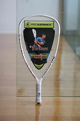 PROKENNEX RACQUETBALL RACQUET KINETIC PURE ONE SHADOW 170g  3 5/8 grip