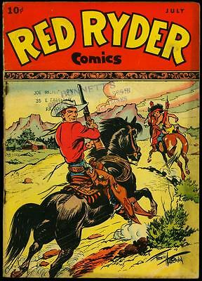 Red Ryder Comics #48 1947- Dell Western Fred Harman FR/G
